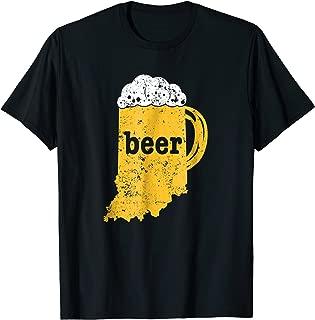 indiana beer shirt