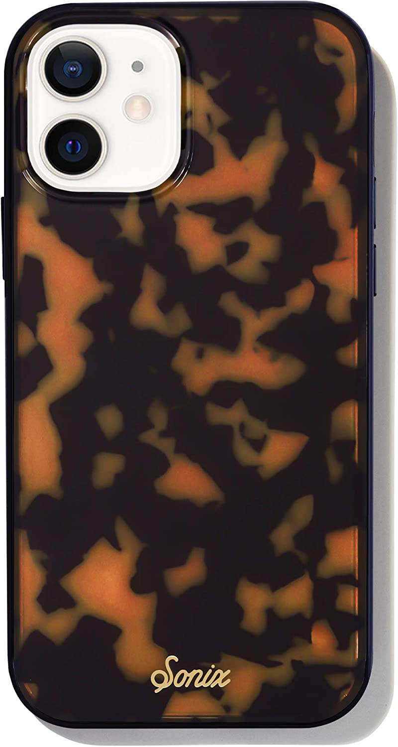 Sonix Brown Tort Case for iPhone 12 / 12Pro [10ft Drop Tested] Women's Protective Tortoiseshell Leopard Cover for Apple iPhone 12, iPhone 12 Pro