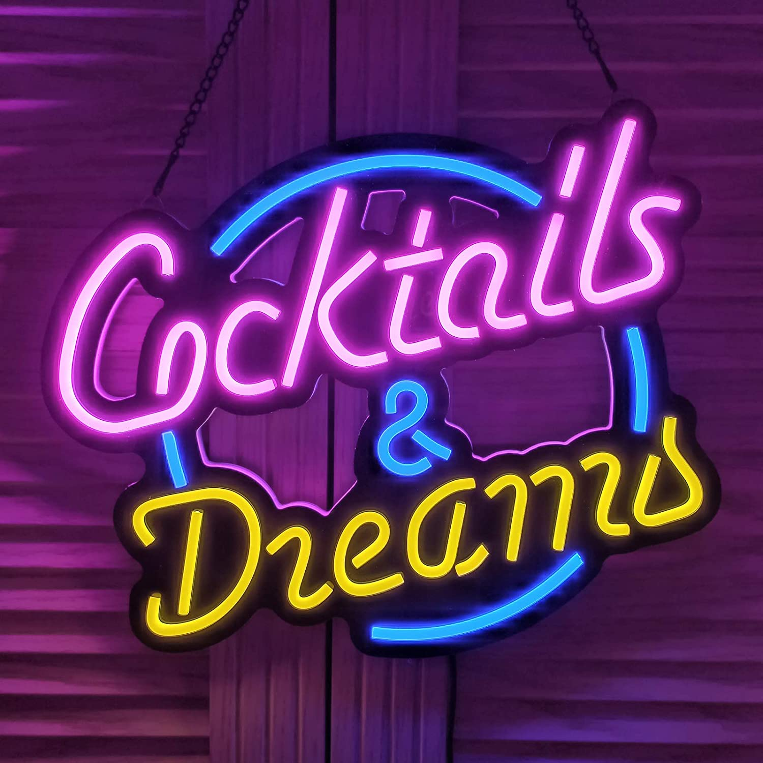 Ultrathin LED Neon Award Sign Art Wall Club Bedroo Bar Beer Lights for Popular products
