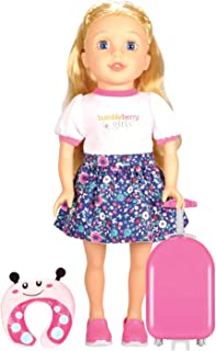 Lotus Soft Bodied Girl Doll Brinley Travel Set, Multi-Colour, 15 inches/38 cm, Lt15026