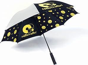 晴雨天兼用 ワンタッチ パラソル ラブピッ スター カーボン 軽量 日傘