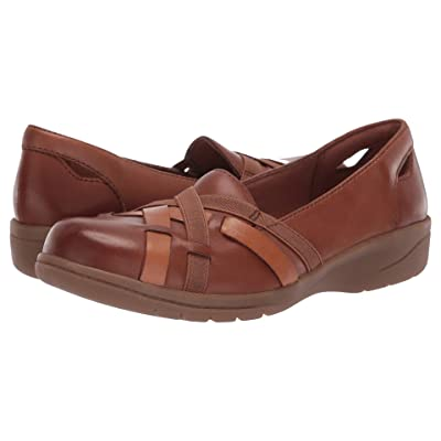 Clarks Cheyn Creek (Mahogany Leather) Women