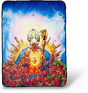 Borderlands 3 Psycho Bandit Cover Art Fleece Throw Blanket | 60 x 45 Inches