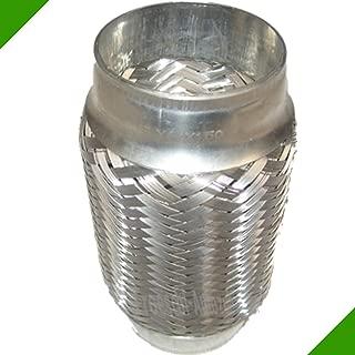 Silber Free Size Yzki 60 x 2,5 cm Luftheizung Tank Auspuffrohr Edelstahl Gasluft Diesel Vent Schlauch Parkheizung Zubeh/ör f/ür Auto Auto LKW Boot