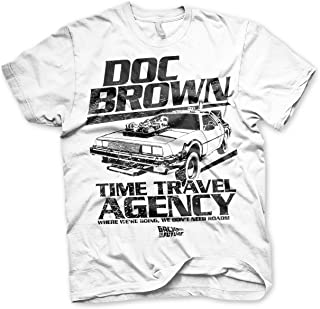 Licensed Back To The Future Biff/'s Automotive Baseball 3//4 Sleeve T-Shirt S-XXL