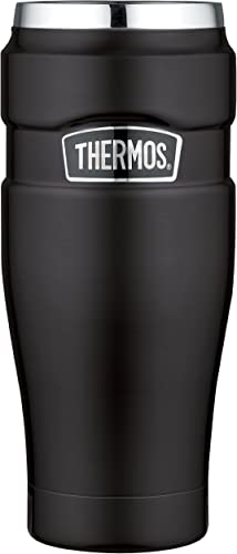 lowest THERMOS Stainless King outlet online sale Vacuum-Insulated Travel Tumbler, 16 high quality Ounce, Matte Black sale
