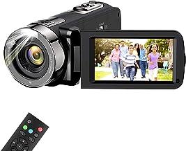 دوربین فیلمبرداری دوربین فیلمبرداری ، wechi Full HD 1080P 15FPS 24MP دوربین دیجیتال ضبط کننده ضبط وبلاگ برای یوتیوب 3.0 اینچ لمسی صفحه نمایش LCD 16X دوربین فیلمبرداری بزرگنمایی دیجیتال برای داخل و خارج با کنترل از راه دور
