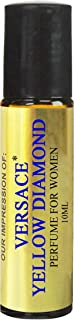 Perfume Studio IMPRESSION Perfume SIMILAR to_V. Yellow Diamond Perfume Oil - 100% Pure Undiluted, No Alcohol Premium Parfum Oil (Yellow Diamond VERSION/TYPE Oil; Not Original Brand)