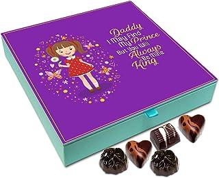 Chocholik Fathers Day Gift Box - Dad You Will Always Be My King Chocolate Box - 9pc