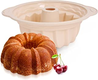 Royalford Silicone Pound Cake Pan With Steel Frame, Multi-Colour, RF9802