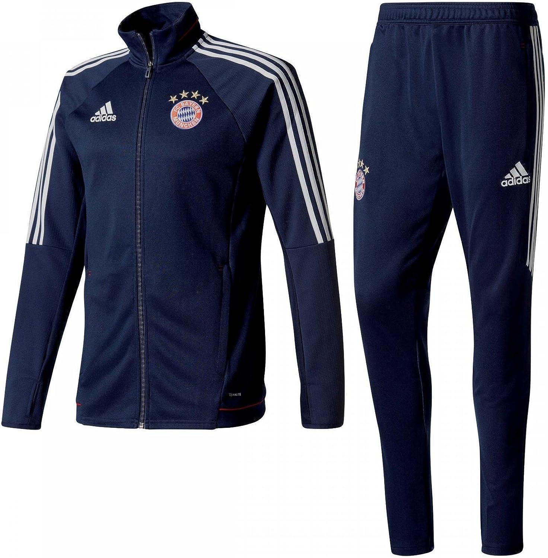 adidas Fcb Trg Fc Bayern Monaco Tuta Uomo