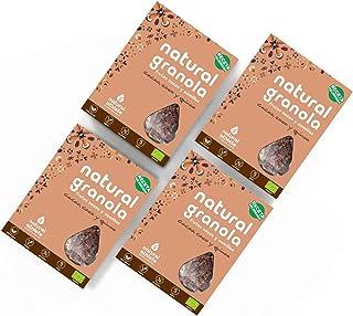 Granola BIO Natural Athlete, Frutos Secos y Semillas, Sin Azúcar Refinado, Sin Gluten, Sin Cerales, Vegana, Cacao, Coco Qu...
