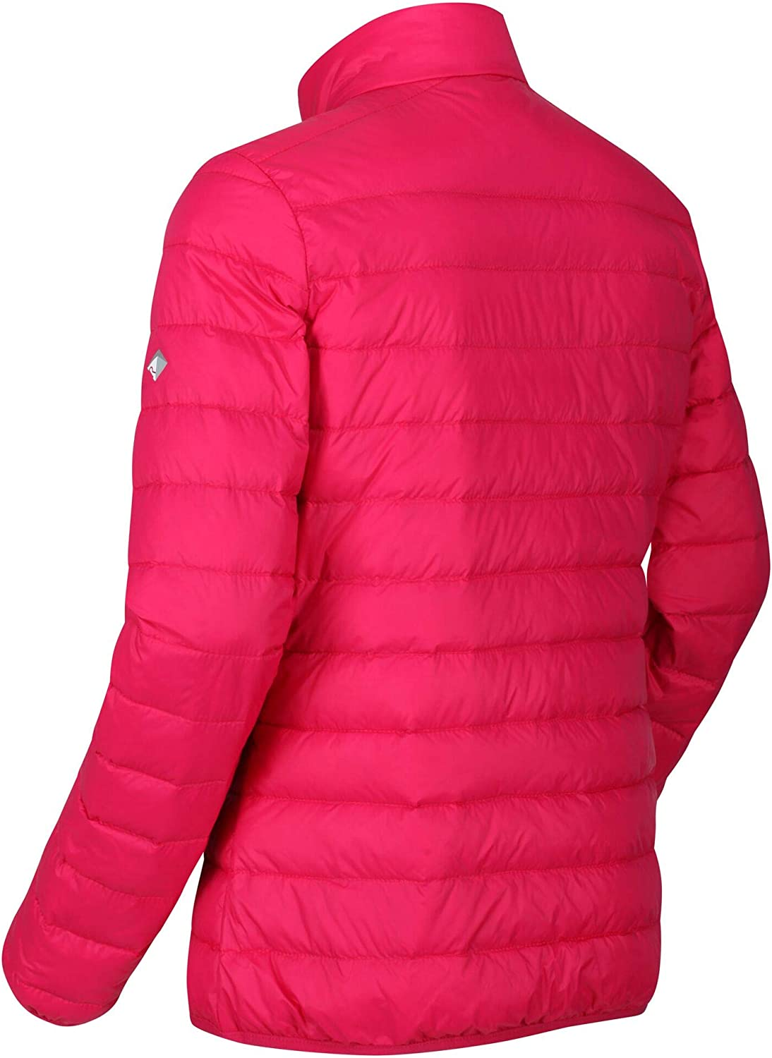 Regatta Womens Whitehill Lightweight Water Repellent Duck Down Fill Compressible Puffa Baffled//Quilted Jacket