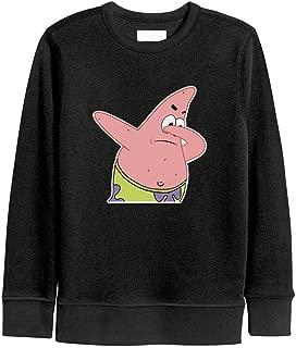 LuMaGG Boys Girls Pullover Hooded Sweatshirts Crew Neck Long Sleeve Cartoon T-Shirt Sports Tee for Kids