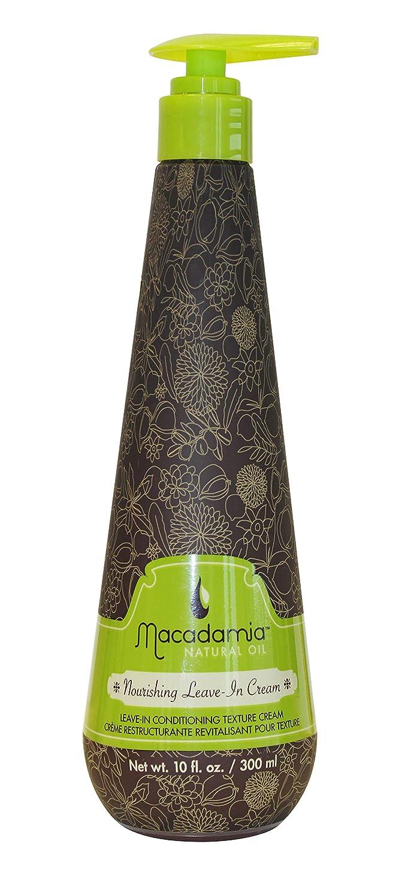 汚物思慮深い郵便Macadamia Nourishing Leave in Hair Cream Tube 300ml (並行輸入品)