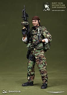 No.93012 NAVY SEAL RECONTEAM SAW GUNNER U.S. Navy Seals Special Forces Recon team SAW Gunner 1/6 scale military figures (japan import)