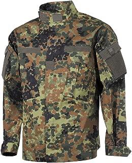 MFH Mens ACU Field Jacket Ripstop Flecktarn