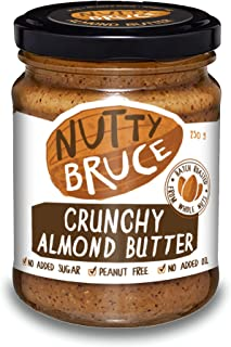 Nutty Bruce Crunchy Almond Butter Spread - 250g