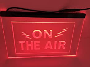 jxledsign On The Air Radio Record Podcasting Studio Displayr Led Light Sign
