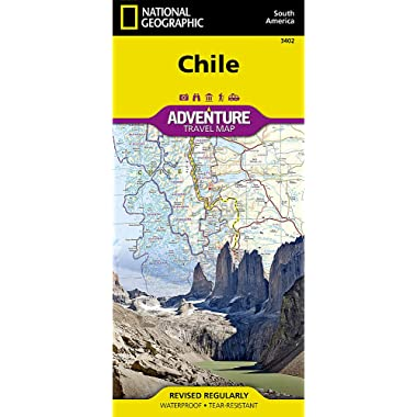 Chile (National Geographic Adventure Map (3402))