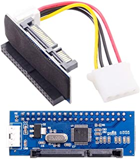 "CY IDE/PATA 40Pin Disk to SATA Female Adapter PCBA Converter for Desktop & 3.5"" Hard Disk Drive"
