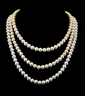Best long freshwater pearl necklace Reviews