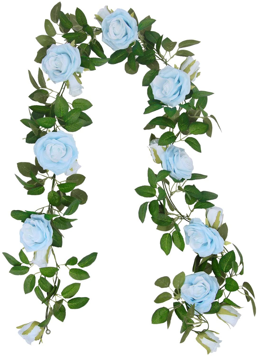 U'Artlines Industry No. New product! New type 1 3Pcs Artificial Rose Vine 32.5 Total Silk Ft Garland