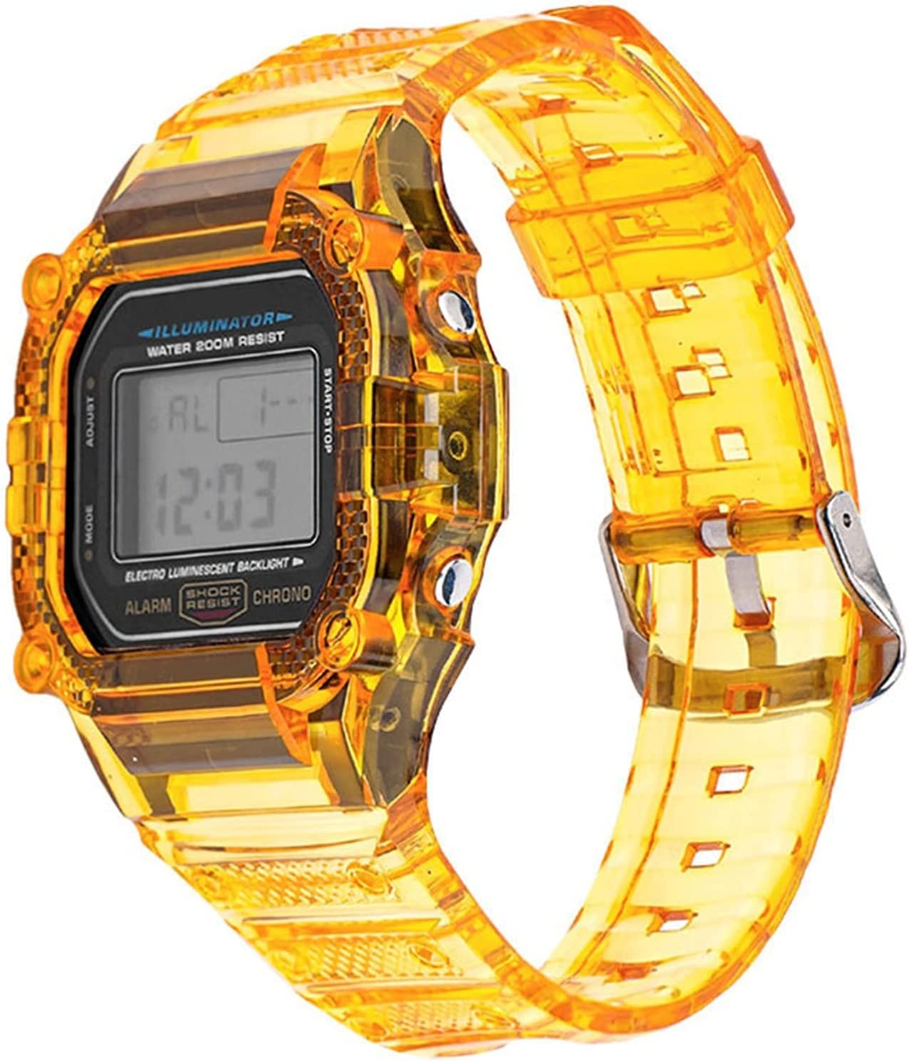 HGGFA Direct sale of manufacturer TPU Weekly update Resin Case Watch Strap G-Shock DW-5600 for Casio GW-M5