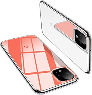 TORRAS Pixel 4 Case Crystal Clear Ultra-Thin Slim Fit Soft TPU Silicone Rubber Cover Compatible with Google Pixel 4 (5.7 I...