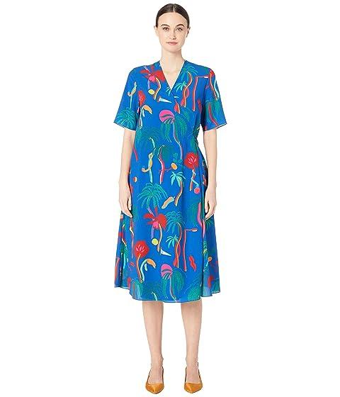 Paul Smith Tropical Print Shirtdress