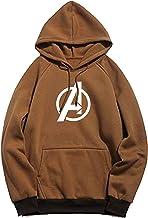 BAGHADBILLO Super Hero Avenger Graphic Printed Casual Regular fit Unisex Warm Pullover Cotton Hoodie, Sweatshirt for Men, ...