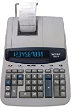 $129 » Victor 1530-6 10 Digit Professional Grade Heavy Duty Commercial Printing Calculator with Large Display and Loan Wizard