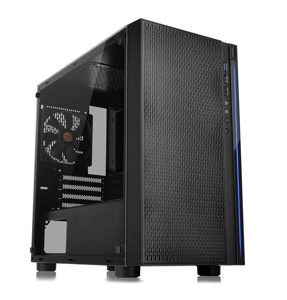 Thermaltake Tempered Gaming Computer CA 1J4 00S1WN 01