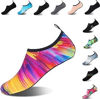 Mens Womens Water Shoes Barefoot Beach Pool Shoes Quick-Dry Aqua Yoga Socks for Surf Swim Water Sport