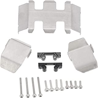 Sponsored Ad - ZYCST Stainless Steel Skid Plate Guard Transmission Gearbox and Differential Axle Protection Chassis Armor ...