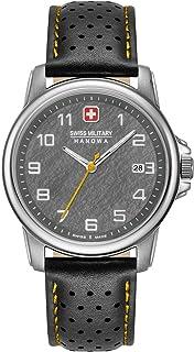 Swiss Military Hanowa - Reloj Analógico para Unisex Adultos de Cuarzo con Correa en Acero Inoxidable 06-4231.7.04.009