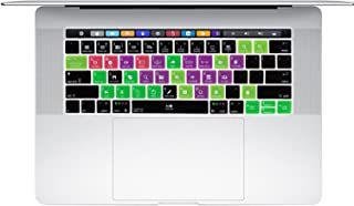 Dogxiong Ableton Live Functional Hot Key Shortcut Silicone Keyboard Skin Cover for MacBook Pro 13