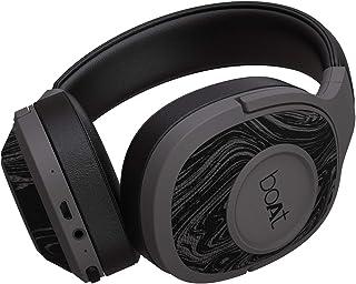 Boat Rockerz 550 Over-Ear Wireless Headphone with Ergonomic Aesthetics, Plush Padded Earcups, Immersive Audio, Bluetooth v...