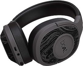 boAt Rockerz 550 Over Ear Wireless Headphone with Ergonomic Aesthetics Plush Padded Earcups Immersive Audio Bluetooth v5 0 Upto 20H Playback Black