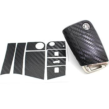 Alu Schliff Anthrazit Folie für BMW C Schlüssel Key Case Hülle Autoschlüssel
