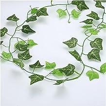 5 st 210 cm planta's kunstmatige creeper groen blad klimop wijnstok voor thuis bruiloft DIY opknoping garland kunstbloemen...