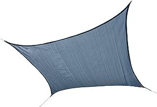 ShelterLogic 25757 Sail Heavyweight 12 x 12 ft, Square, Sea Blue Sun Shade, 12' x 12'