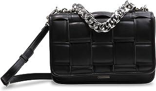 Steve Madden Damen Woven Shoulder Bag Matterd gewebte Schultertasche, Einheitsgröße