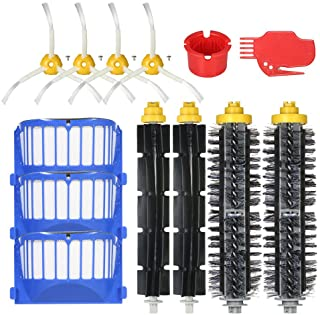 Pack of 13 Replacement Accessories Kit for iRobot Roomba 600 Series 690 691 694 650 651 664 615 601 630 Vacuum Cleaner- Br...