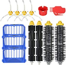 Goolsky 13pcs Replacement Accessories Kit for iRobot Roomba 600 Series 690 691 694 650 651 664 615 601 630 Vacuum Cleaner- Bristle Brush + Flexible Brush + Filter + Side Brush + Cleaning Tool