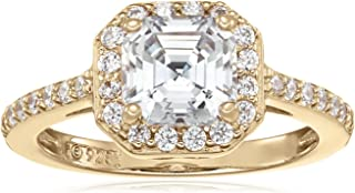 Best yellow gold plated engagement rings Reviews