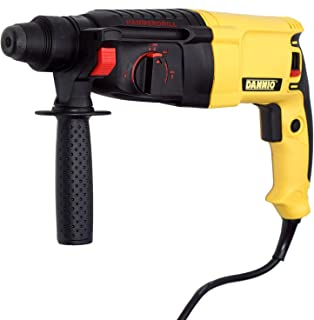 DANNIO Rotary Hammer Drill with Dual Drill Modes, 360° Rotating Auxiliary Handle, 26mm SDS-Plus, Concrete Power Tools with...