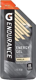 Gatorade Endurance Energy Gel, Vanilla, 21 Pack, 1.3 oz Pouches