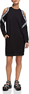 KARL LAGERFELD Cold Shoulder Sweat Dress Vestido Casual. para Mujer