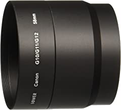 58mm Two Piece Lens Adapter for Canon Powershot G10, G11 (an alternative to the LA-DC58K)
